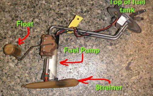 Gas Gauge Not Working >> Car Parts Fuel Pumps And Fuel Sending Units Myhonestmechanic