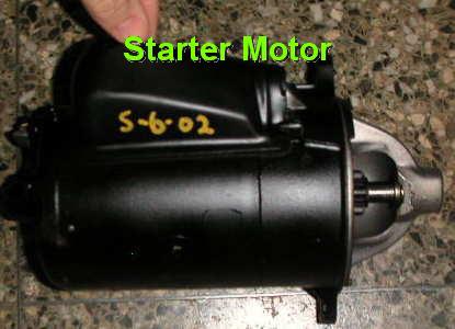 Car wont start battery or starter motor 12v