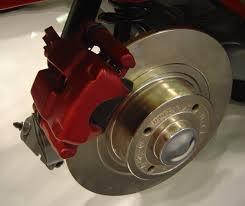 brake caliper and brake rotor