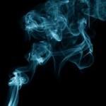blue exhaust smoke