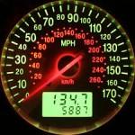 battery drain in speedometer